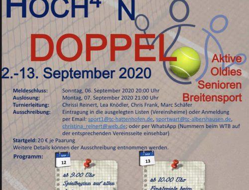 Doppelvereinsmeisterschaften Hoch4 vom 12.-13. September